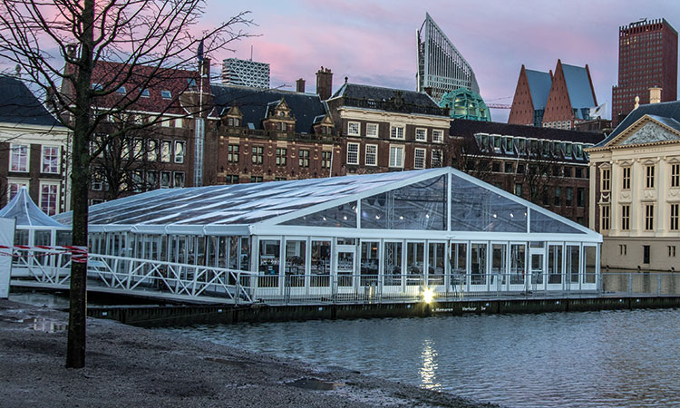 Marquee event structure ES225 by Kontent Structures