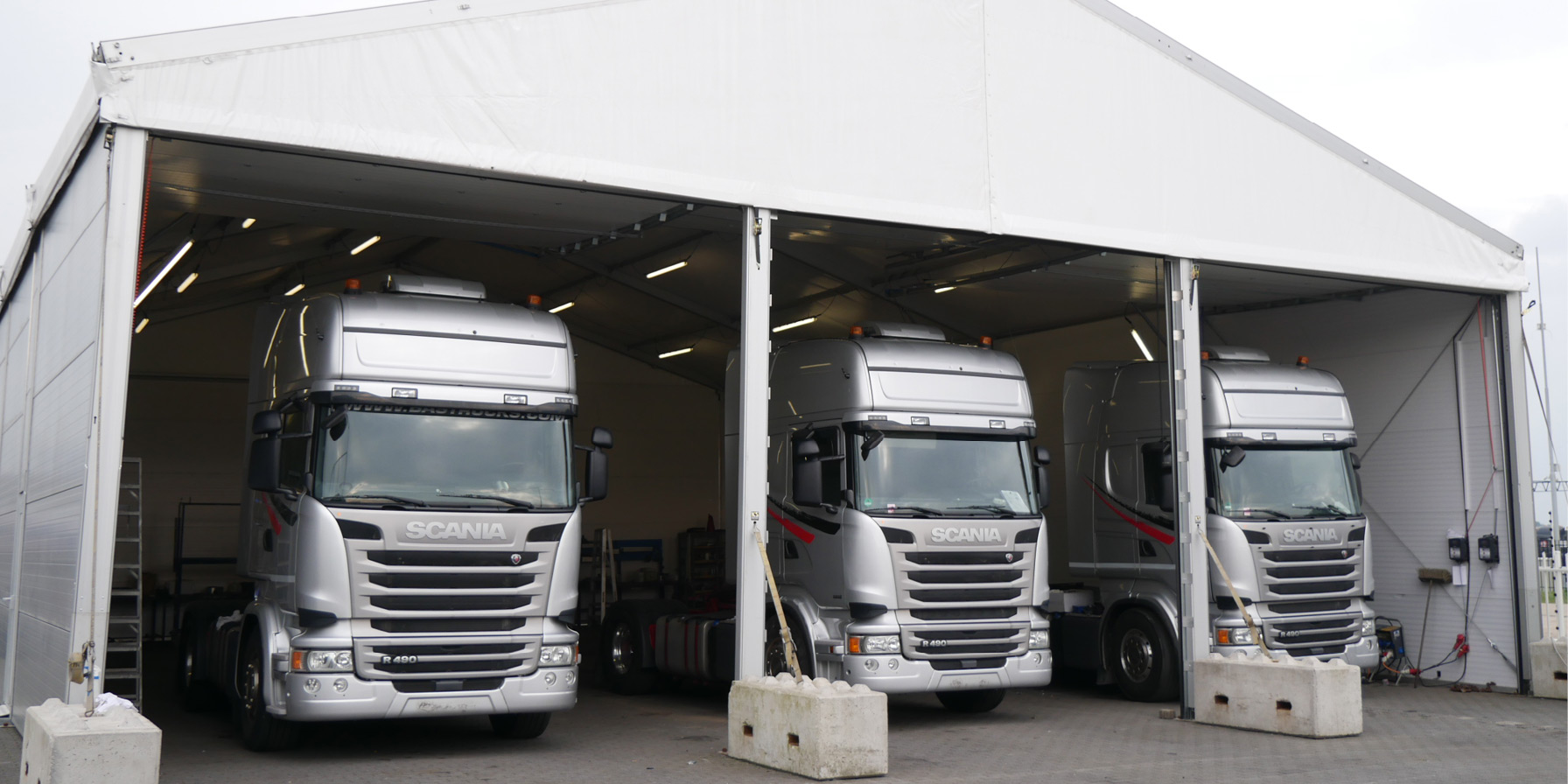 Vehicle Accommodation BAS Trucks