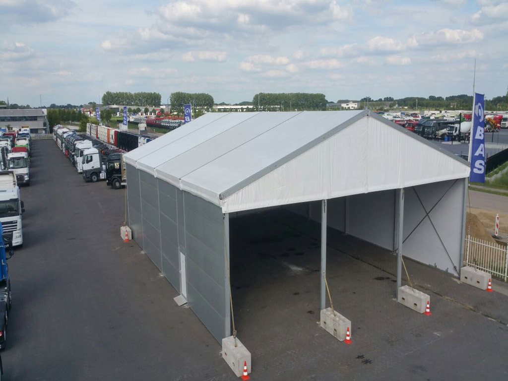 BAS Trucks Tent structure