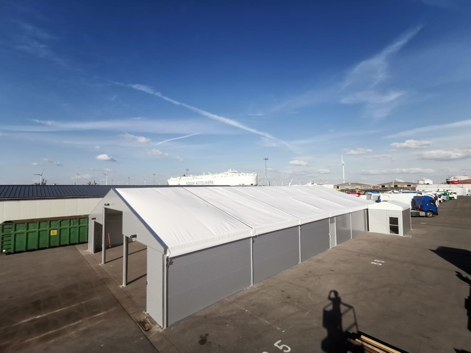 Tentconstructie EWS Antwerp