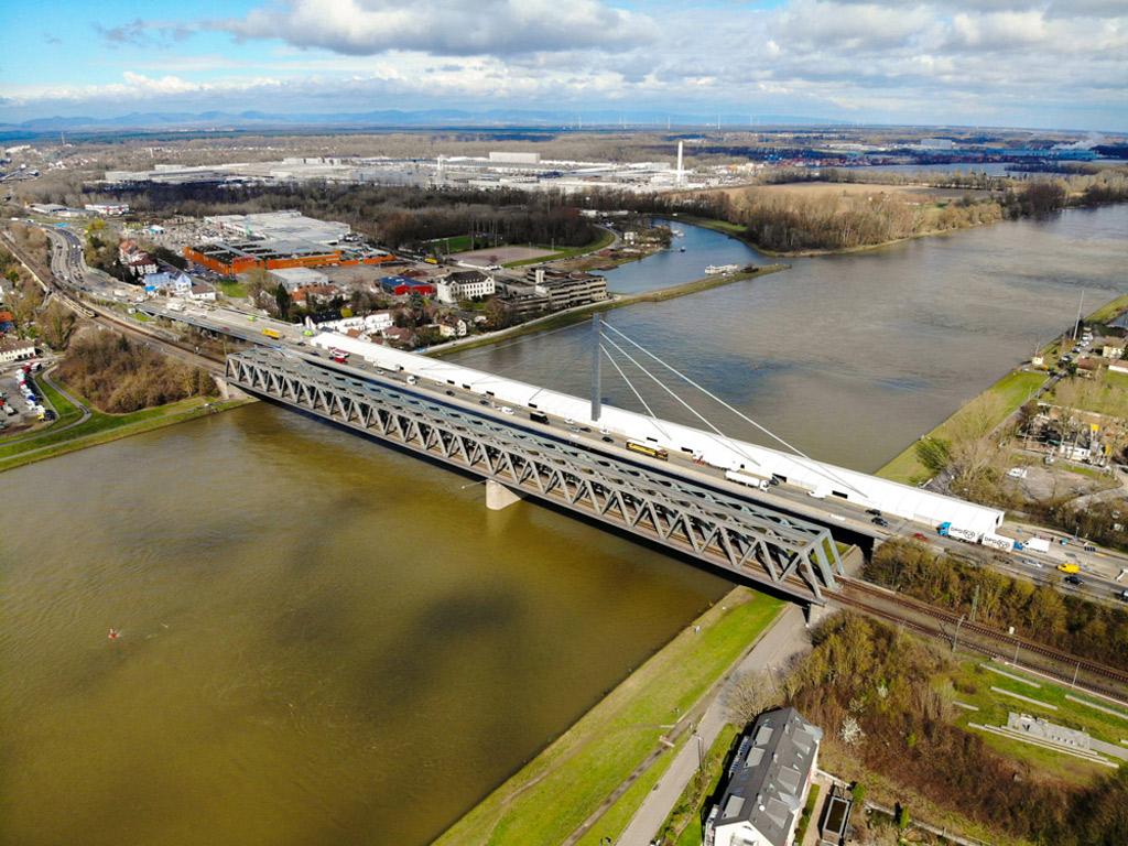 Rhine Bridge Work Tent