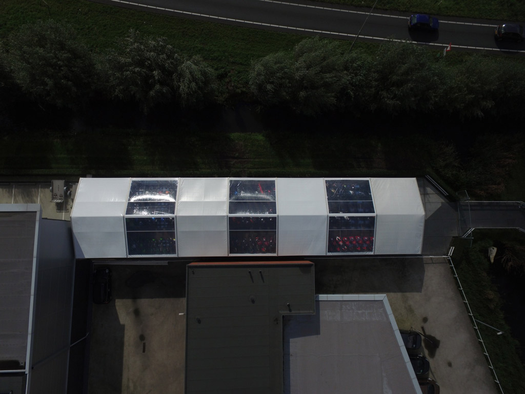 Tentstructure Goedhart Motors