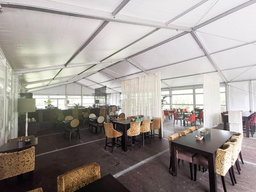 Yarden Funeral Organization Tent Structure