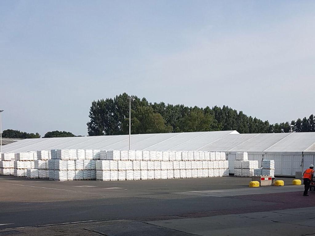 Tentstructure AKZO Nobel