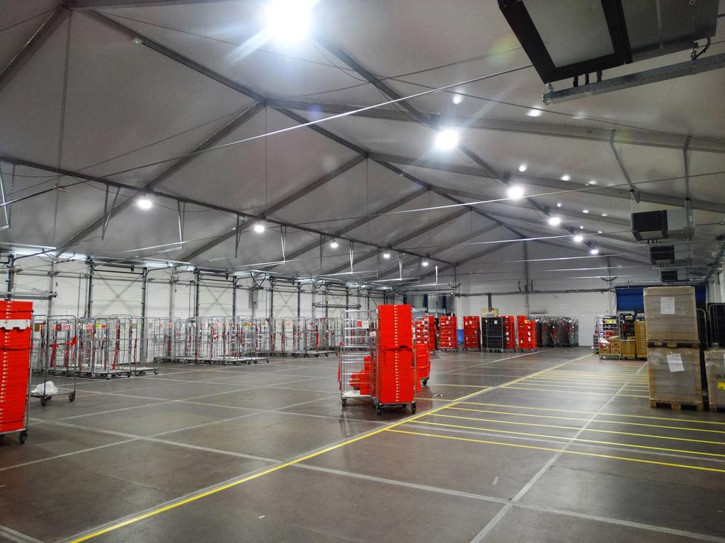 Tent structure Dekamarkt