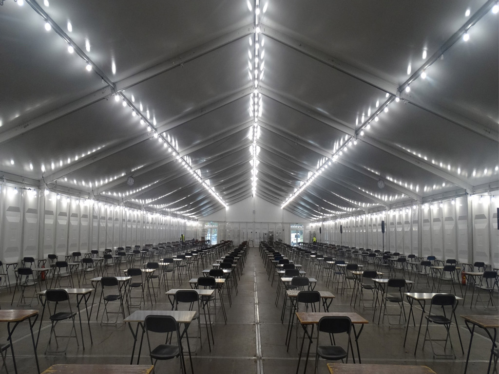 Temporary Exam Hall Tilburg University
