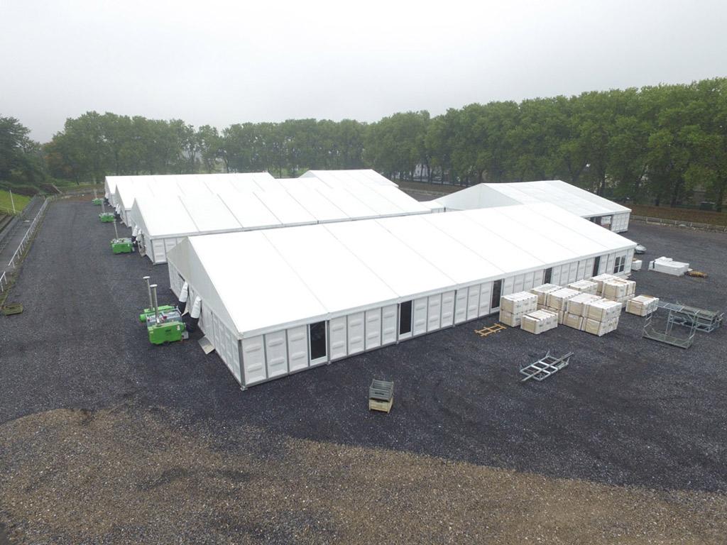 Temporary shelter for refugees