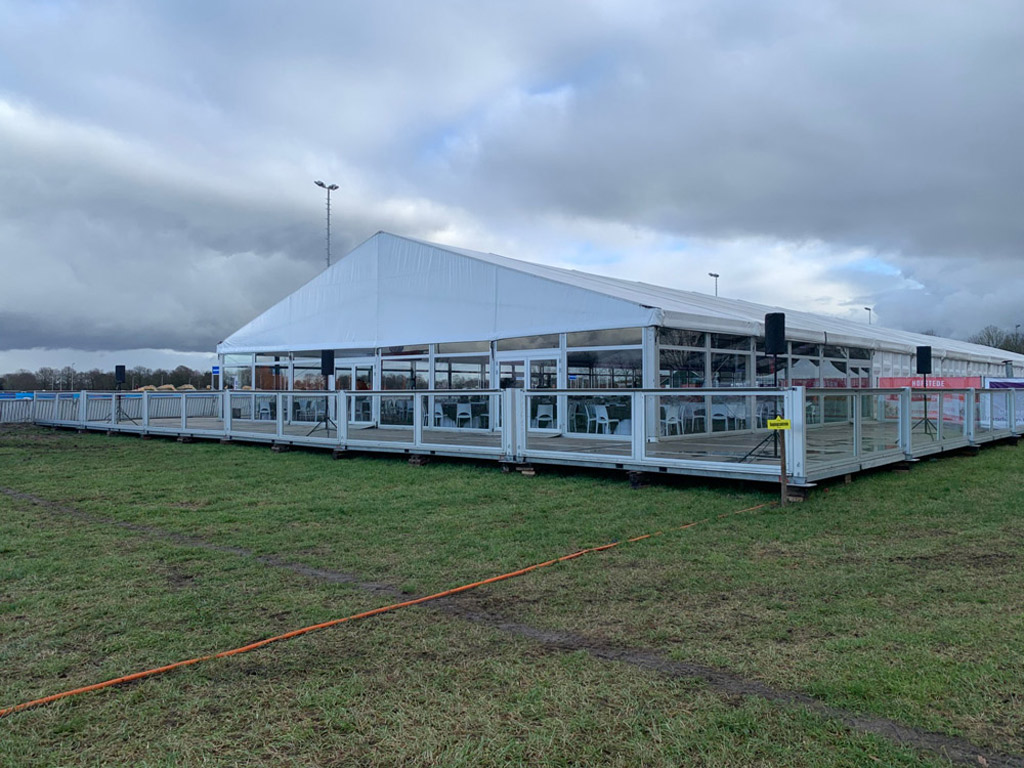 NK Cyclocross tent structure