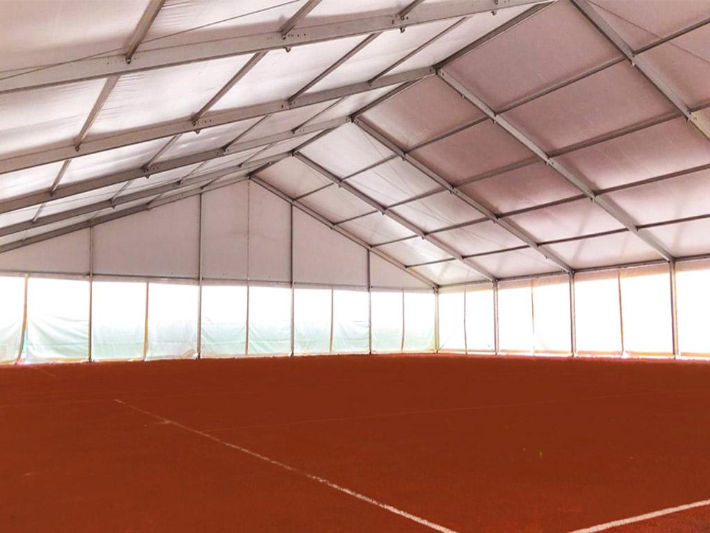 Tijdelijke sportaccommodatie Universiteit Leiden