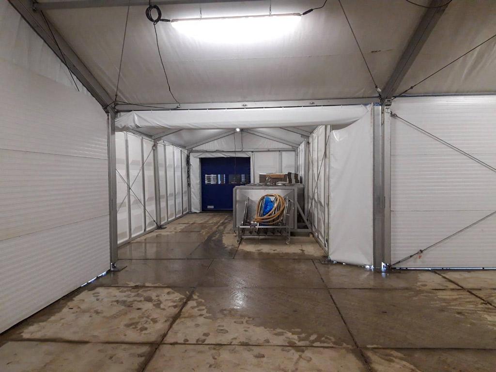 Warehouse Structure Mushrooms