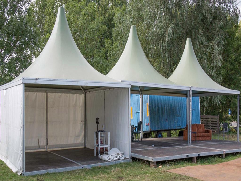 Vakantiespelen Bodegraven Pagodetenten - Kontent Structures
