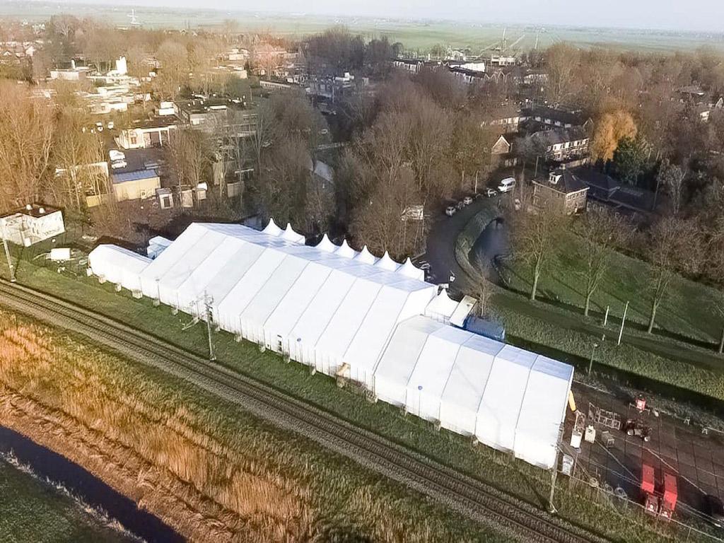 Tentstruture Christmas show