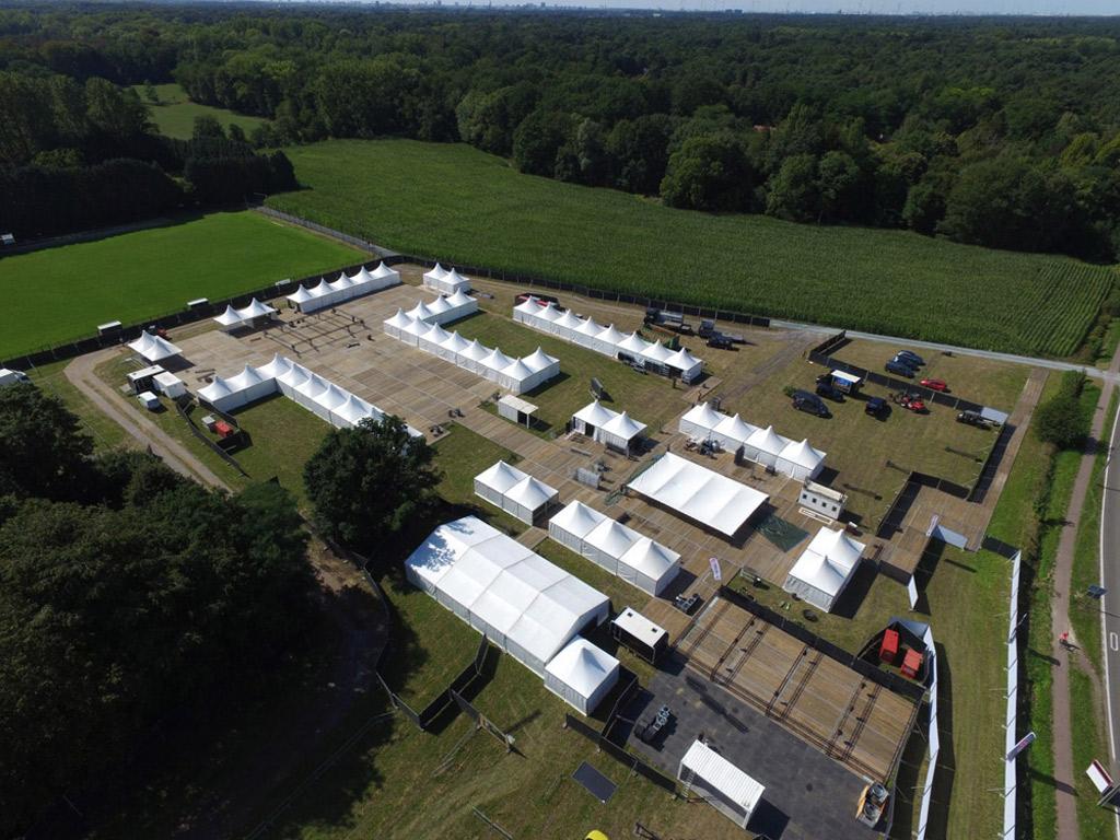 Tent Structures Wezel Culinair