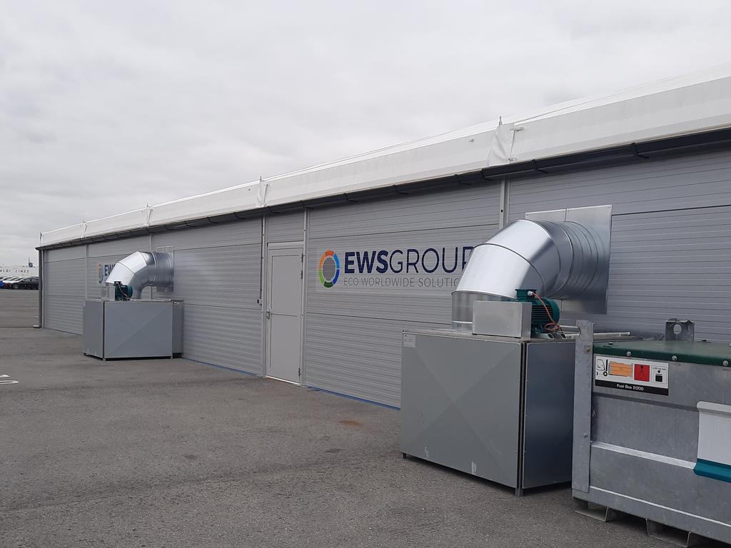 Warehouse Structure EWS Antwerpen
