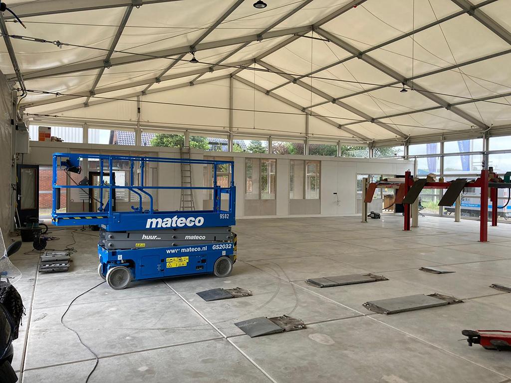 Tent autobedrijf van Essen