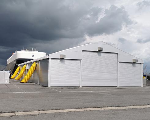 Storage tent WS 225 Kontent Structures