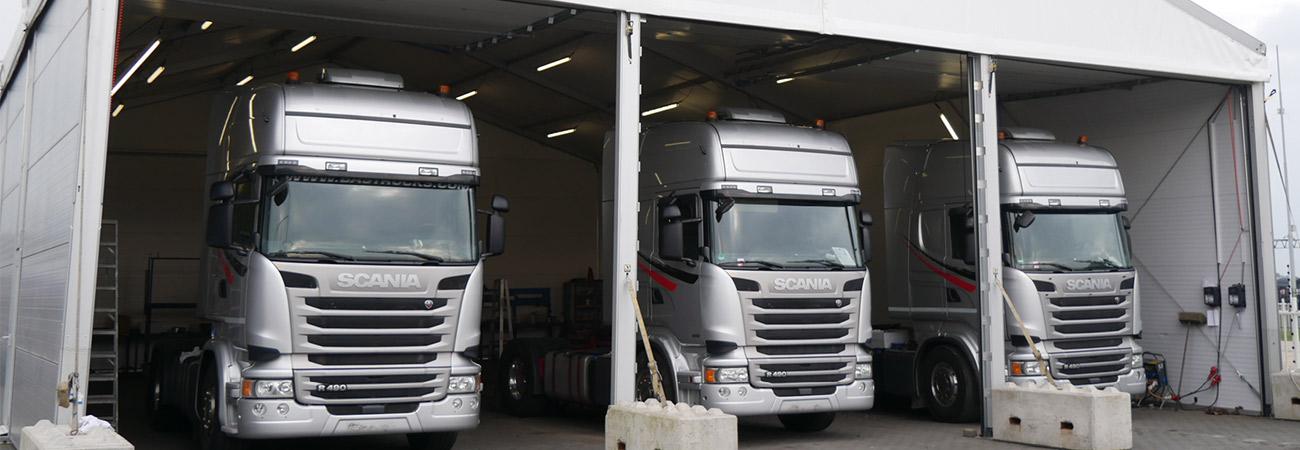 Warehouse Structure BAS Trucks