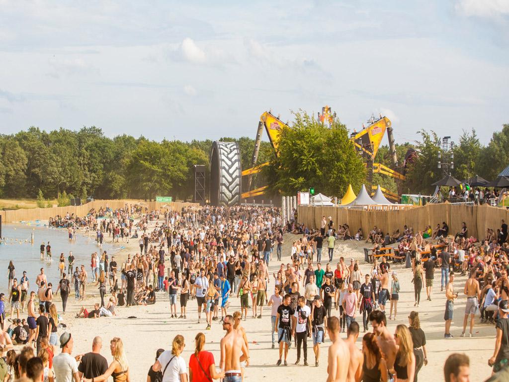 Pagodetenten Dominator festival - Kontent Structures