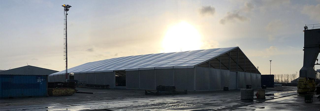 Warehouse Structure Broekman Logistics