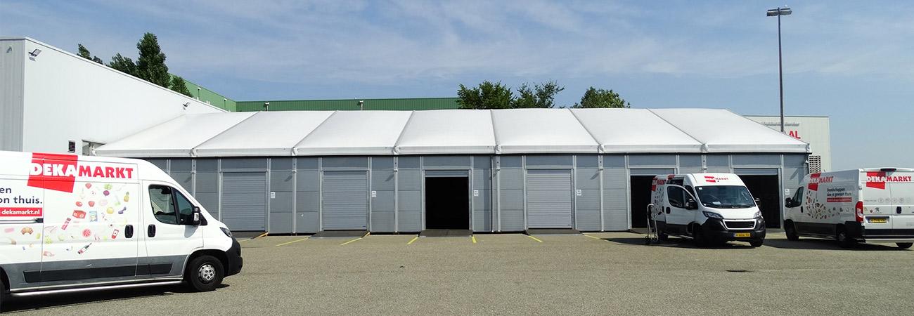 Warehouse Structure DEKA markt