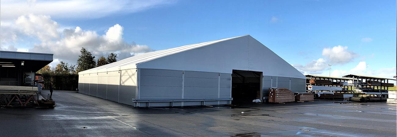 Leegwater Vastgoed Storage Tent