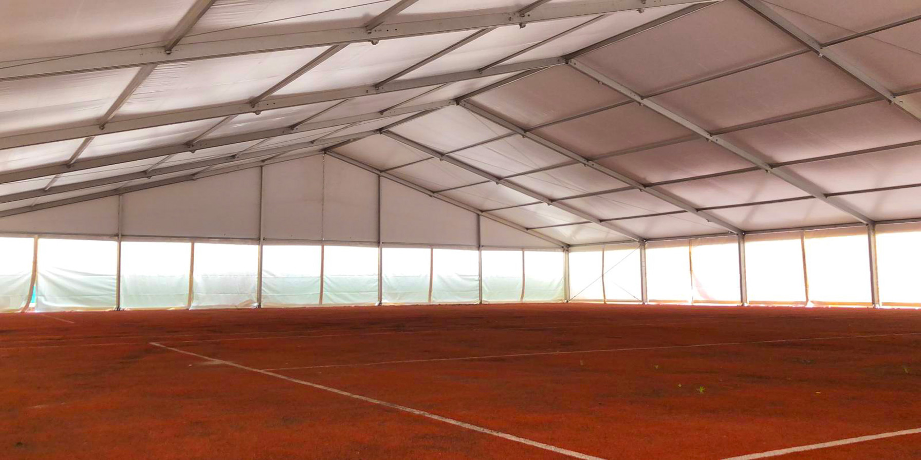 Tent as sportaccommodation