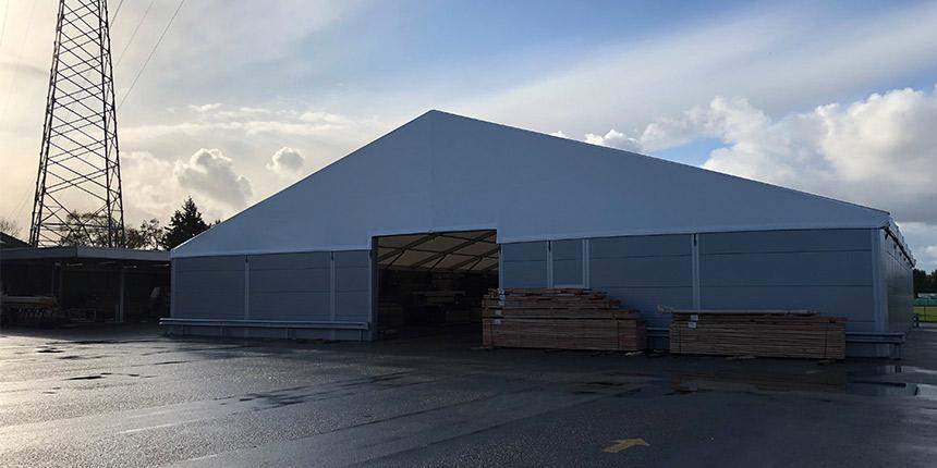Storage tent WS 300 Leegwater