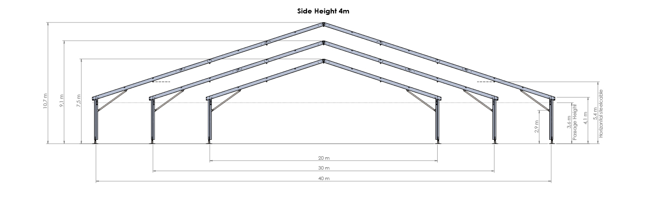 WS 300 Technical drawing