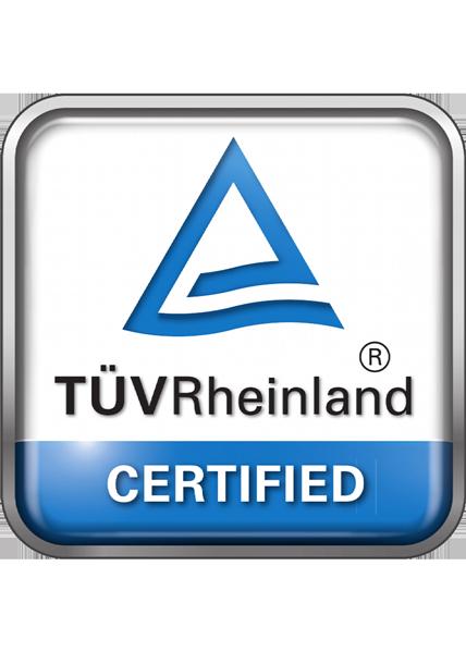 Kontent Structures - TÚVRheinland certified