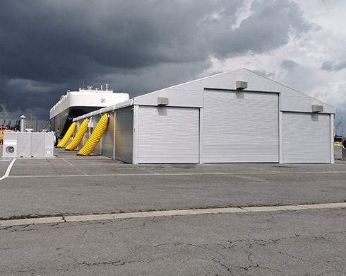 EWS Antwerp Warehouse Structure 225