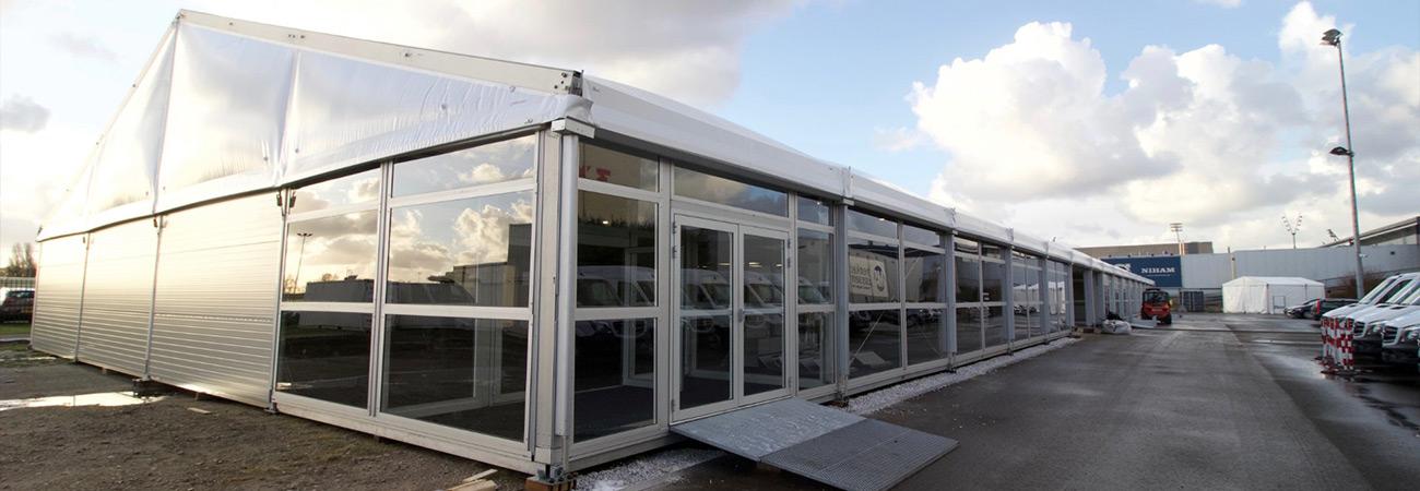 Mercedes-Benz - Tijdelijke showroom - Kontent Structures