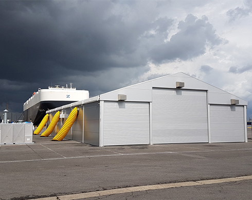 Opslagtent WS 225 EWS Antwerpen