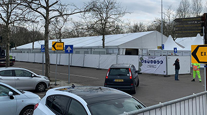XL Testlocatie Eindhoven door Kontent Structures