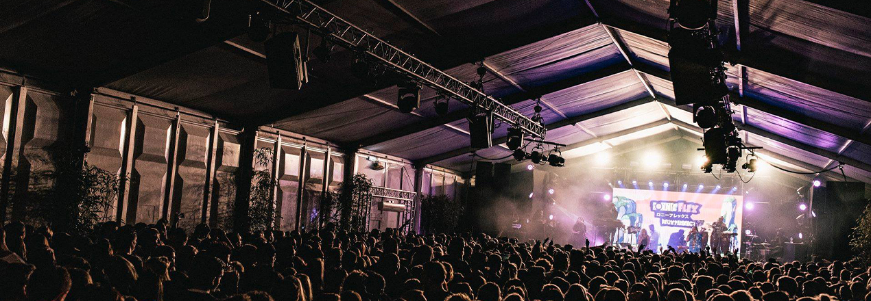 Blijdorp Festival Tentstructuur door Kontent Structures