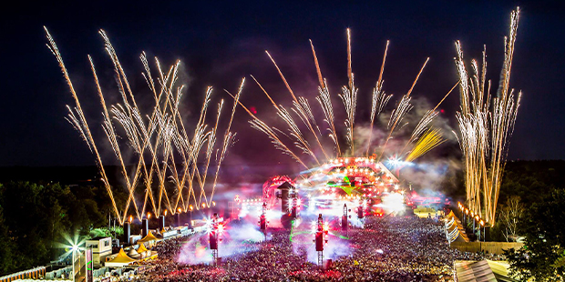 Festival Dominator powered by Kontent Structures